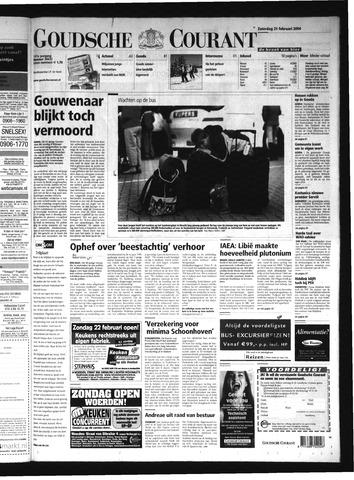 Goudsche Courant 2004-02-21