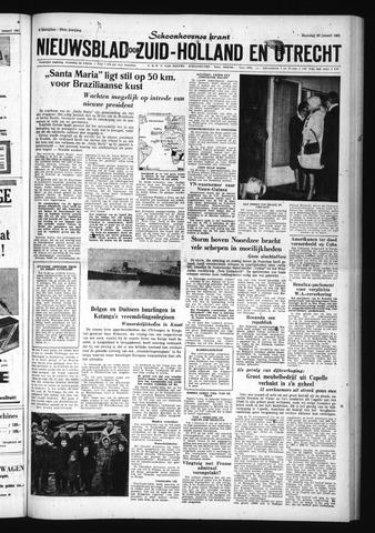 Schoonhovensche Courant 1961-01-30