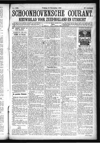 Schoonhovensche Courant 1926-11-19