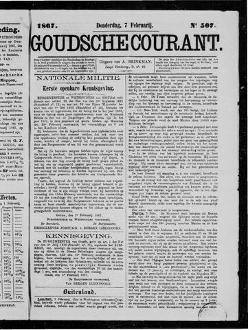 Goudsche Courant 1867-02-07
