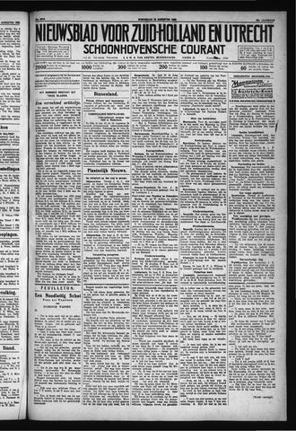 Schoonhovensche Courant 1930-08-20
