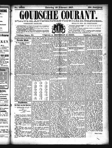 Goudsche Courant 1917-02-10