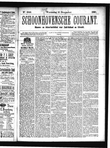 Schoonhovensche Courant 1898-12-21