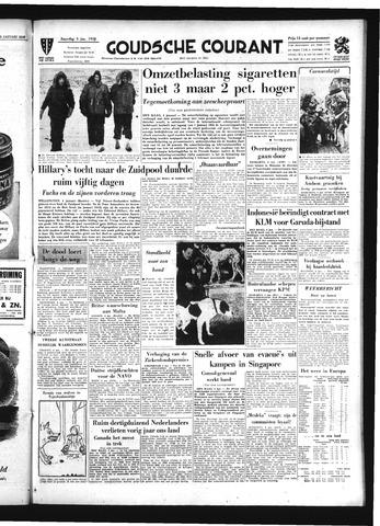 Goudsche Courant 1958-01-04