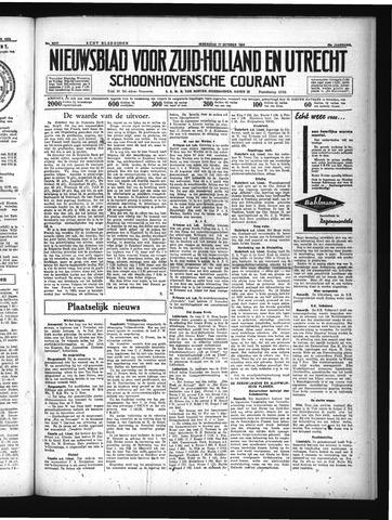 Schoonhovensche Courant 1934-10-17