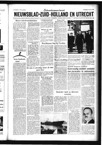 Schoonhovensche Courant 1959-01-14
