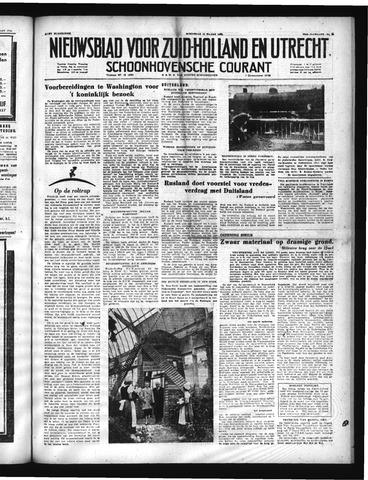 Schoonhovensche Courant 1952-03-12