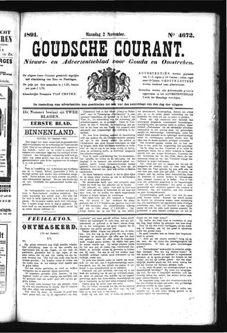 Goudsche Courant 1891-11-02