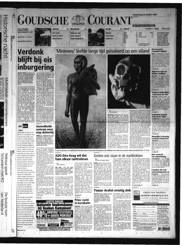 Goudsche Courant 2004-10-28