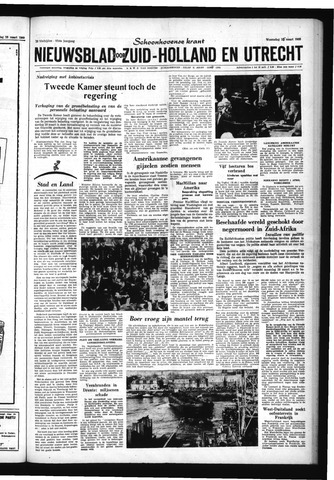 Schoonhovensche Courant 1960-03-25