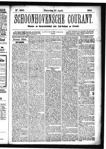 Schoonhovensche Courant 1900-04-21
