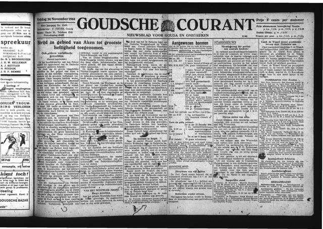 Goudsche Courant 1944-11-24