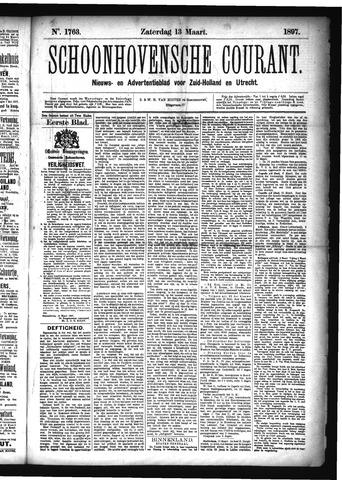 Schoonhovensche Courant 1897-03-13