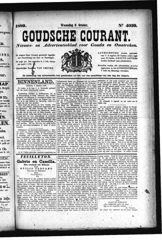 Goudsche Courant 1889-10-09