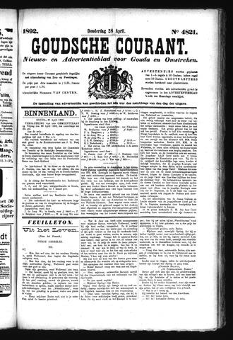 Goudsche Courant 1892-04-28