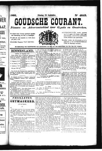 Goudsche Courant 1891-09-29