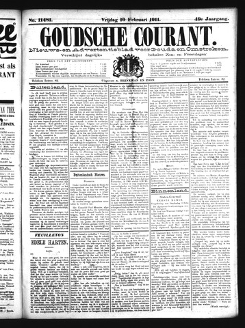 Goudsche Courant 1911-02-10