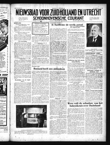 Schoonhovensche Courant 1949-09-26