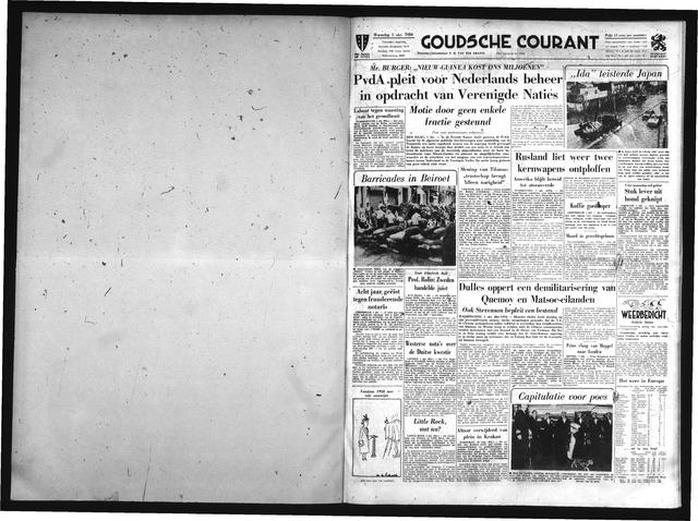 Goudsche Courant 1958-10-01