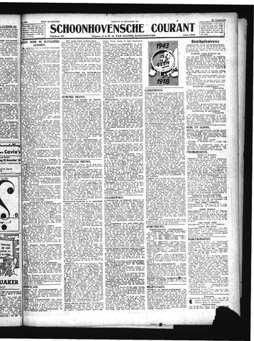 Schoonhovensche Courant 1943-11-19