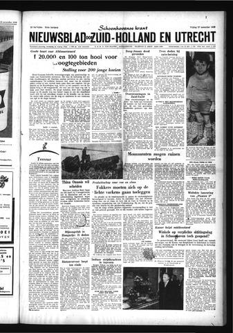Schoonhovensche Courant 1959-11-27