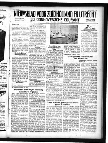 Schoonhovensche Courant 1950-05-15