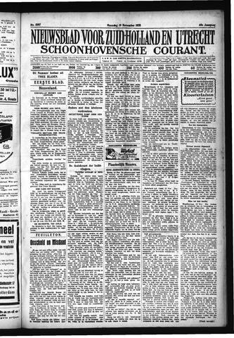 Schoonhovensche Courant 1928-11-19