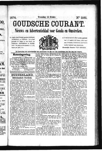 Goudsche Courant 1874-10-14