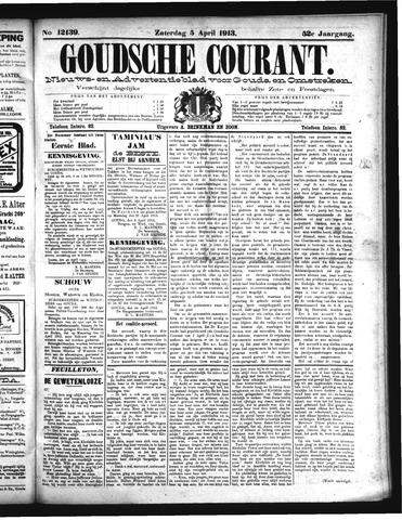 Goudsche Courant 1913-04-05