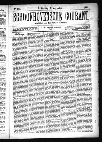 Schoonhovensche Courant 1881-08-07