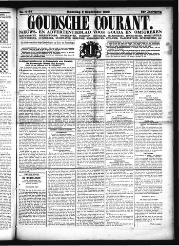 Goudsche Courant 1929-09-09