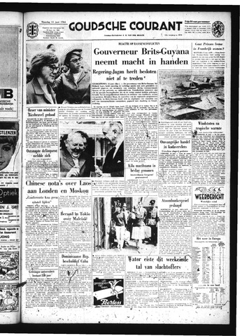 Goudsche Courant 1964-06-15