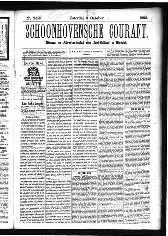 Schoonhovensche Courant 1903-10-03