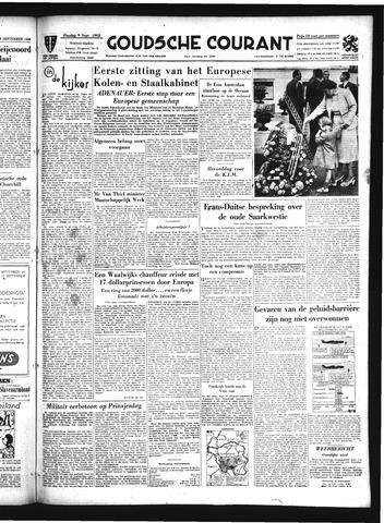 Goudsche Courant 1952-09-09