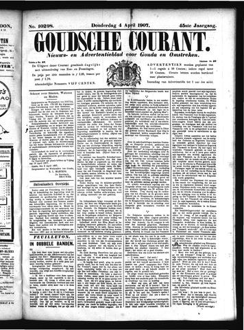 Goudsche Courant 1907-04-04