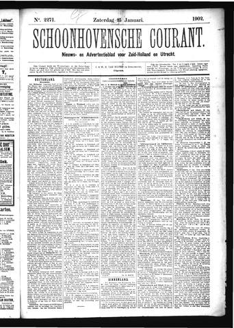 Schoonhovensche Courant 1902-01-25