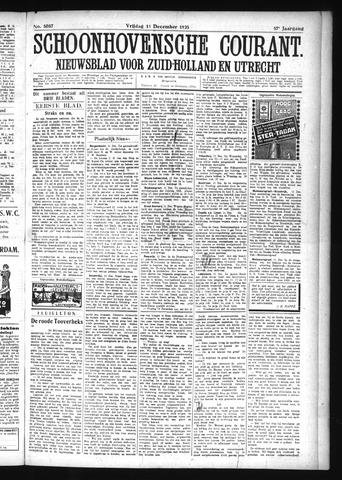 Schoonhovensche Courant 1925-12-11