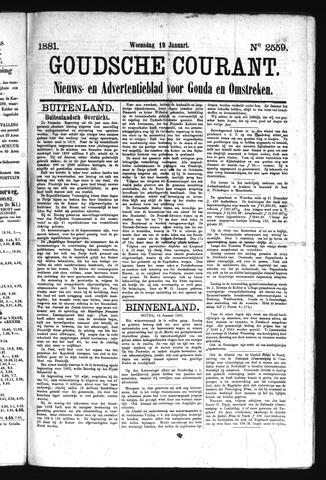 Goudsche Courant 1881-01-19