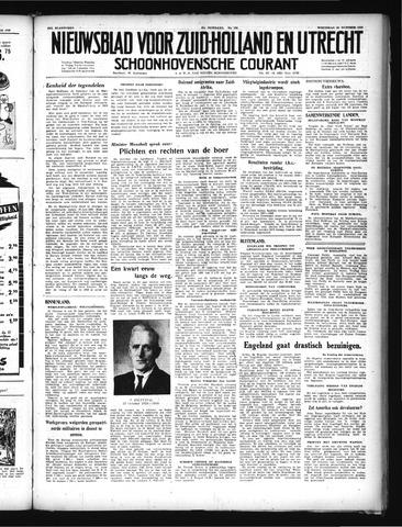 Schoonhovensche Courant 1949-10-26
