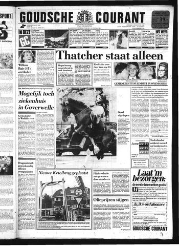 Goudsche Courant 1986-08-05