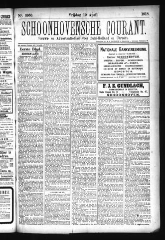 Schoonhovensche Courant 1918-04-19