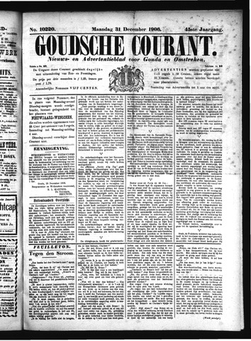 Goudsche Courant 1906-12-31