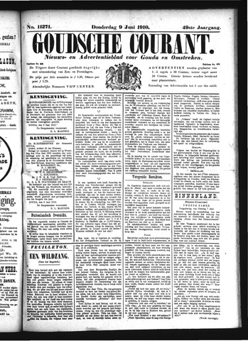 Goudsche Courant 1910-06-09