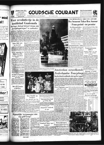 Goudsche Courant 1954-08-03