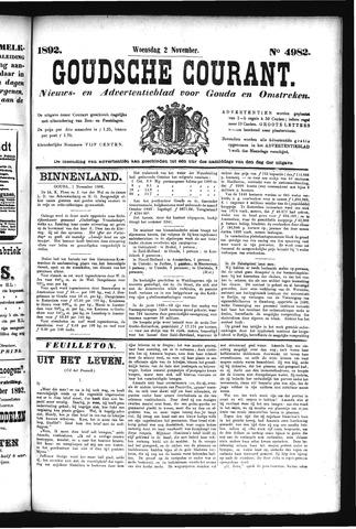 Goudsche Courant 1892-11-02