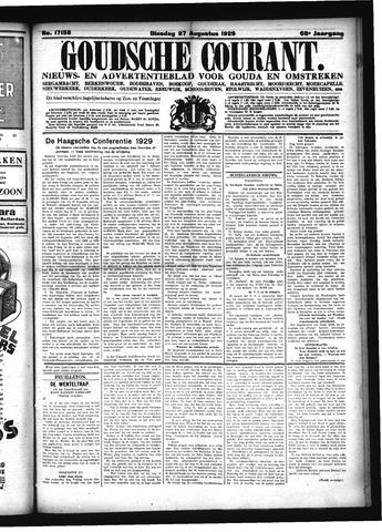 Goudsche Courant 1929-08-27
