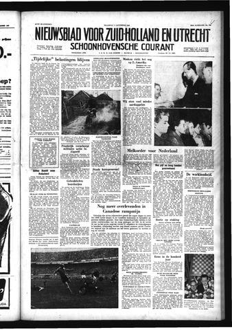 Schoonhovensche Courant 1958-11-03