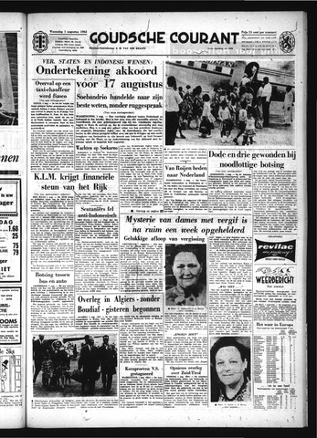 Goudsche Courant 1962-08-01
