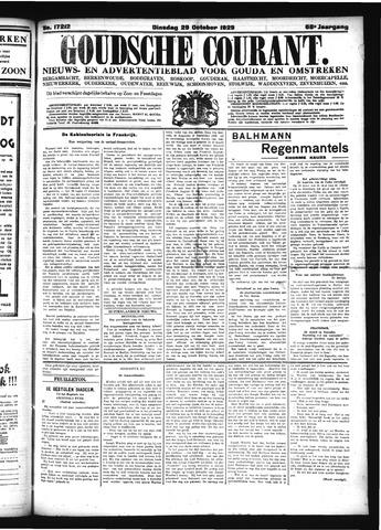 Goudsche Courant 1929-10-29