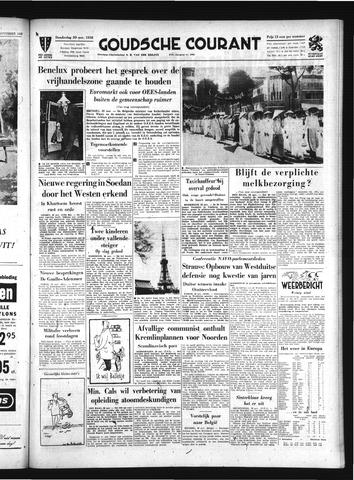 Goudsche Courant 1958-11-20